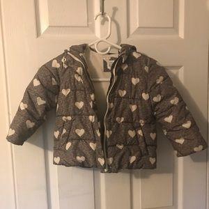 Gap 4t winter coat hood